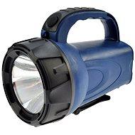 Solight nabíjecí LED svítilna černomodrá - Baterka