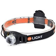 Solight čelová LED svítilna stmívatelná, 3W Cree - Čelovka