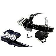 Solight nabíjecí LED cyklo a čelová svítilna - Čelovka
