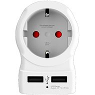 Cestovní adaptér SKROSS cestovní adaptér USA USB pro použití ve Spojených státech