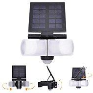 Solight LED solární osvětlení se senzorem, 8W, 600lm, Li-on, černá - Venkovní světlo