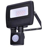 Solight LED reflektor Easy se sensorem, 10W, 800lm, 4000K, IP44 - LED reflektor