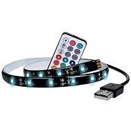 Dekorativní LED pásek Solight LED RGB pásek pro TV, 2x 50cm, USB, vypínač, dálkový ovladač