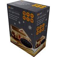Solight LED závěs rampouchy 120 LED, teplá bílá - Vánoční osvětlení