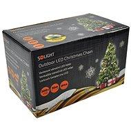 Solight LED venkovní řetěz 300 LED, teplá bílá - Vánoční osvětlení