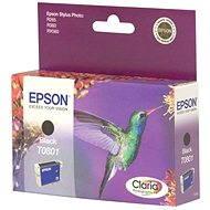 Epson T0801 černá - Cartridge