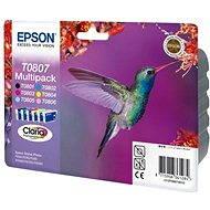 Epson T0807 multipack - Sada cartridge