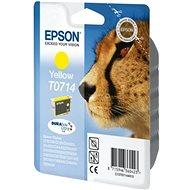 Cartridge Epson T0714 žlutá