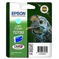 Epson T0795 světlá azurová - Cartridge