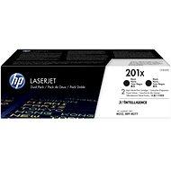 HP CF400XD č. 201X 2-pack černý