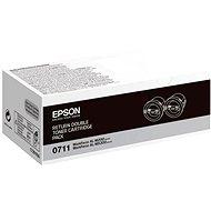 Epson S050711 černý 2ks - Toner