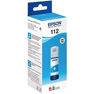 Epson 112 EcoTank Pigment Cyan ink bottle azurová - Cartridge