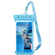 "Seaflash waterproof TPU case for smartphones up to 6.5 ""blue - Mobile Phone Case"
