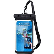 "Seaflash waterproof TPU case for smartphones up to 6.5 ""black - Mobile Phone Case"