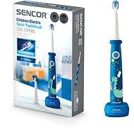 SENCOR SOC 0910BL  - Elektrický zubní kartáček pro děti