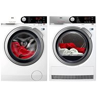 AEG ProSteam L7FBE68SC + AEG AbsoluteCare T8DEE68SC - Washer and dryer set