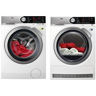 AEG ÖKOMix L8FEC68SC + AEG AbsoluteCare T8DEC68SC - Washer and dryer set