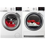 AEG ProSense L6FBG68SC + AEG AbsoluteCare T8DBG68SC - Washer and dryer set