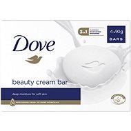 DOVE Original Krémová tableta na mytí 4 × 100 g - Tuhé mýdlo