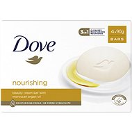 DOVE Cream Oil Bar Soap 4× 100 g - Tuhé mýdlo