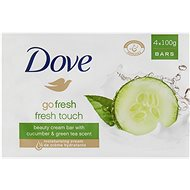 DOVE Go Fresh Cucumber & Green Tea Bar Soap 4× 100 g - Tuhé mýdlo