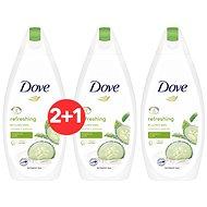 DOVE Refreshing Cucumber & Green Tea Shower Gel 500 ml 2+1