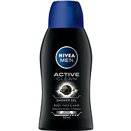 NIVEA MEN Active Clean mini 50 ml - Pánský sprchový gel