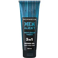 DERMACOL Men Agent 3v1 Gentleman touch  250 ml - Pánský sprchový gel