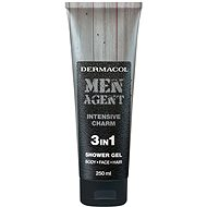 DERMACOL Men Agent 3v1 Intensive charm 250 ml - Pánský sprchový gel