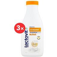 LACTOVIT Activit Sprchový gel ochranný 3 × 500 ml - Sprchový gel