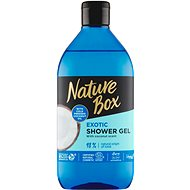 NATURE BOX Shower Gel Coconut Oil 385 ml - Sprchový gel