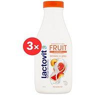 LACTOVIT Fruit Broskev a Grep 2× 500 ml - Sprchový gel