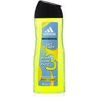 ADIDAS Men A3 Hair & Body Get Ready 400ml - Men's Shower Gel