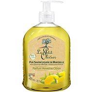 LE PETIT OLIVIER Pure Liquid Soap of Marseille - Verbena Lemon Perfume 300 ml - Tekuté mýdlo
