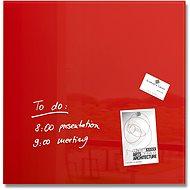 SIGEL Artverum 48x48cm červená - Magnetická tabule
