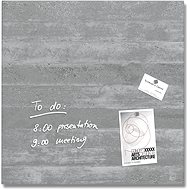 SIGEL Artverum 48x48cm - textura betonu - Magnetická tabule