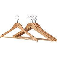 Ramínko Siguro Essentials dřevěné, natural, 5 ks