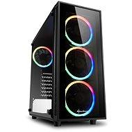 Sharkoon TG4 RGB - Počítačová skříň