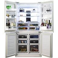 SHARP SJFS 810VWH - Americká lednice