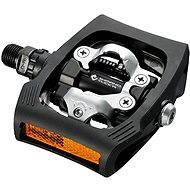Shimano MTB PD-T400 CLICK'R zarážky SM-SH56 black - Pedály