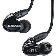 SHURE SE315-K černá - Sluchátka