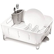 Simplehuman Odkapávač na nádobí Compact, černý plast - Odkapávač na nádobí