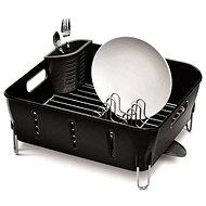 Simplehuman Odkapávač na nádobí Compact, bílý plast - Odkapávač na nádobí