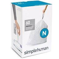 Simplehuman Sáčky do koše typ N, 45-50l, 3 x balení po 20 ks (60 sáčků) - Pytle na odpad