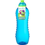 SISTEMA 620ml Squeeze Bottle Blue Online Range - Drink bottle