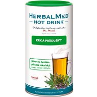 HerbalMed HotDrink Dr. Weiss, Cough and Bronchitis, 180g + Vitamin C - Herbal Extract