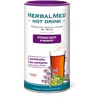HerbalMed HotDrink Dr. Weiss, Cold and Flu, 180g + Vitamin C - Herbal Extract