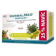 HerbalMed past. Dr.Weiss Isl.liš+tym+med+vitC 24+6 - Bylinné pastilky