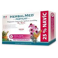 HerbalMed past. Dr.Weiss Echin+rakytník+vit.C 24+6 - Bylinné pastilky