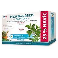 HerbalMed past. Dr.Weiss Eukalypt+máta+vit.C 24+6 - Bylinné pastilky